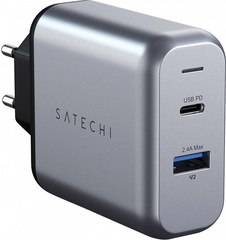 Сетевая зарядка Satechi 30W Dual-Port Wall Charger ST-MCCAM-EU
