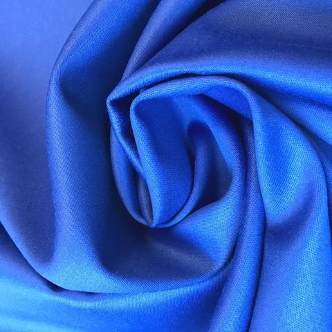 Мерный лоскут 1,1 м костюмно-плательная ткань цвет васильковый 3226