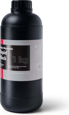 Фотополимер Phrozen Water Washable Black, черный (1 кг)