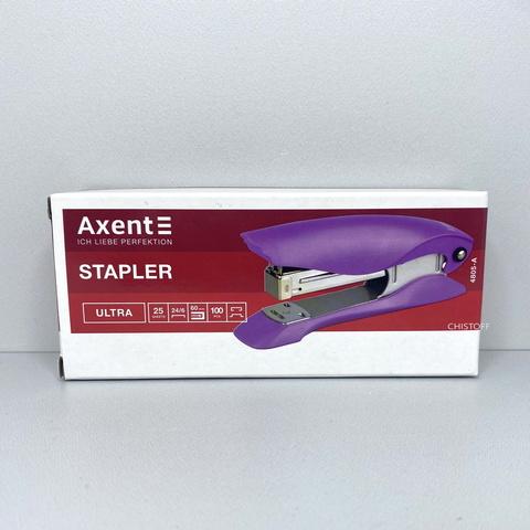Степлер Axent Ultra 4805-A пластиковый №24/6, 25 листов