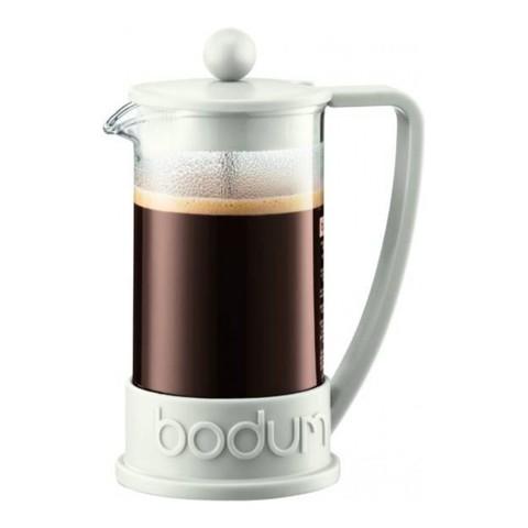 Френч-пресс Bodum Brazil (1 литр), белый