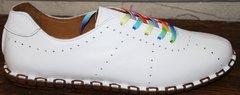 Туфли мокасины женские Evromoda 19604 White