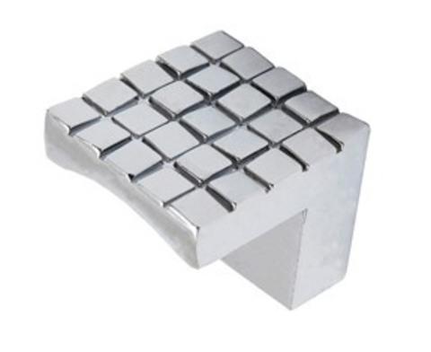 Ручка мебельная кнопка ZY-62-K хром