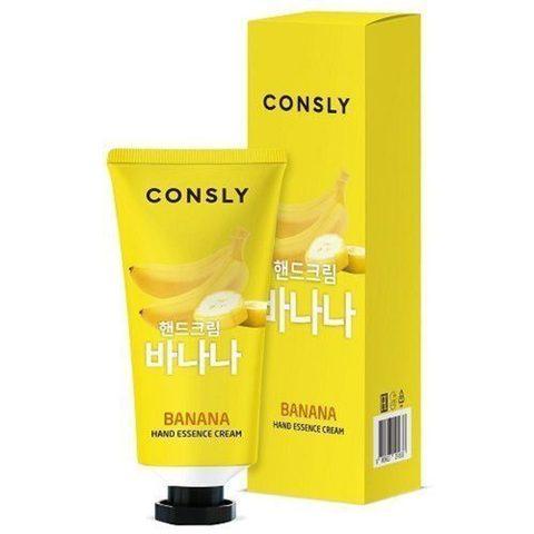 Consly Крем-сыворотка для рук с экстрактом банана - Banana hand essence cream, 100мл