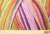 Пряжа Fibranatura Bamboo Jazz Multi 307 (Банан,розовый,фиолет,салат)