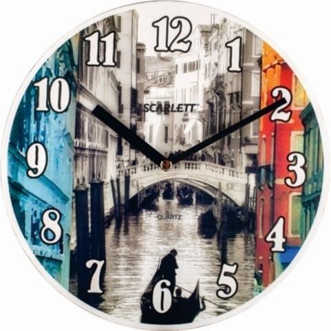 Часы настенные Scarlett SC-25VN