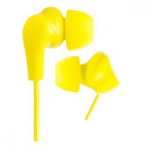 Perfeo наушники внутриканальные NOVA жёлтые