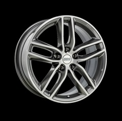 Диск колесный BBS SX 8.5x19 5x108 ET45 CB70.0 platinum silver/diamond cut