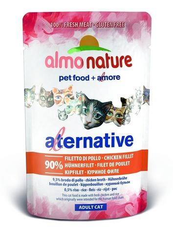 Паучи Almo Nature Alternative - Chicken Fillet