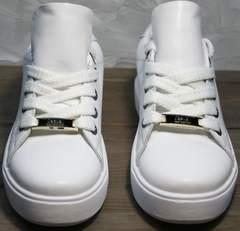 Кеды для подростков девушек Molly shoes 557 Whate