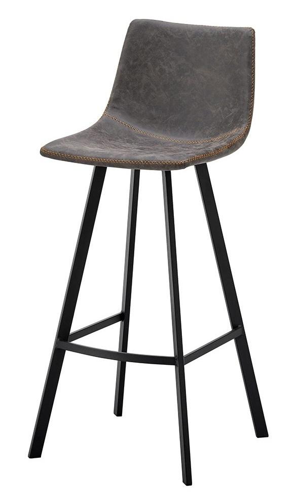 Стул барный CQ-8307A-6 серый 2089
