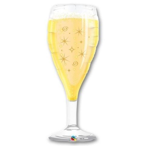 Фольгированный шар Бокал шампанского