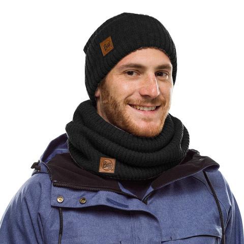 Комплект шапка-шарф Buff Rutger Graphite фото 1