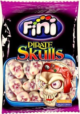 Жевательный мармелад Fini Pirate Skulls 100 гр