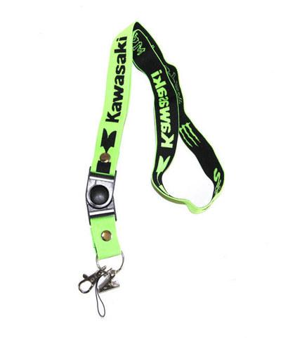 Шнурок на шею для ключей Kawasaki
