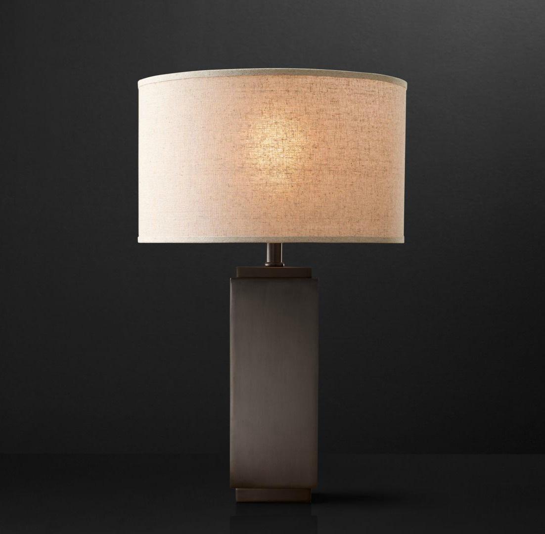 Настольная лампа Square Column Accent Lamp