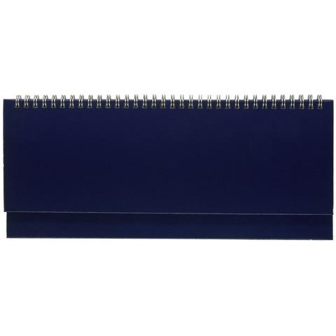 Планинг недатированный Альт Ideal искусственная кожа 64 листа синий (305х130 мм)