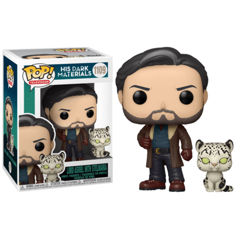 Lord Asriel Belacqua with Stelmaria (His Dark Materials) Funko Pop! || Лорд Азриэл (Тёмные начала)