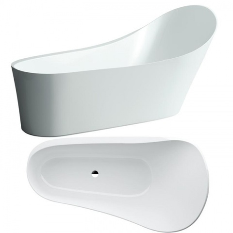 Отдельностоящая ванна Laufen PALOMBA 2.4580.2.000.000.1