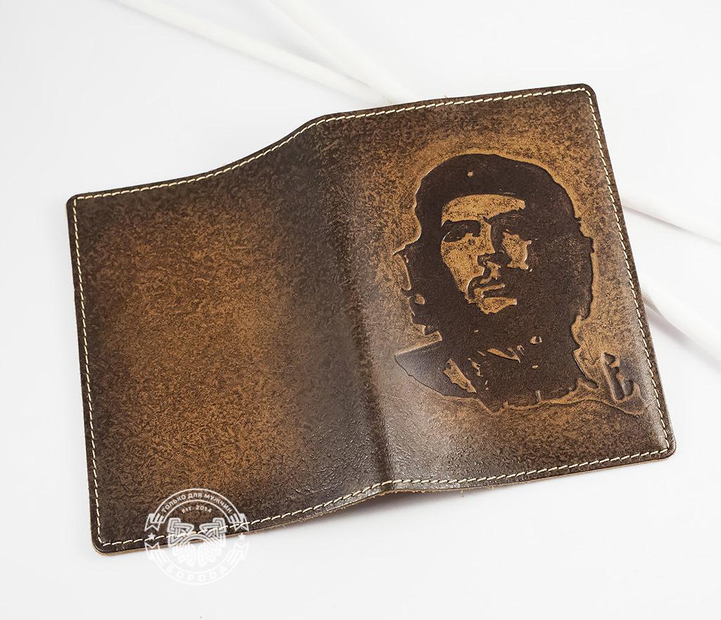 BY14-17-01 Обложка из натуральной кожи «Че Гевара» фото 04