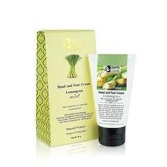 Крем для рук и ног с маслом кокоса, жожоба, оливы Лемонграсс, HerbCare