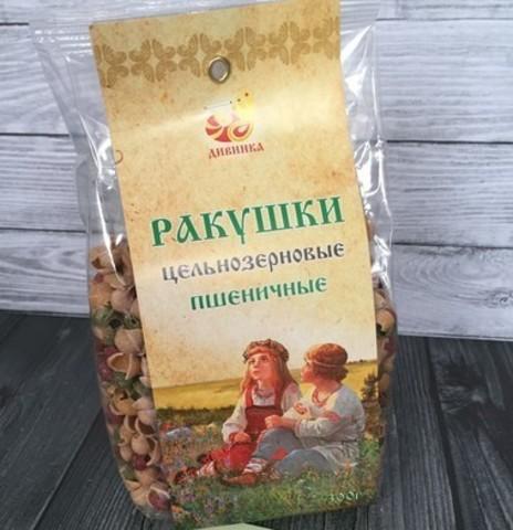 Макароны Ракушки цветные, 300 гр. (Дивинка)