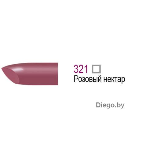 Губная помада матовая Luxury Velvet Matt , тон 321 Розовый нектар