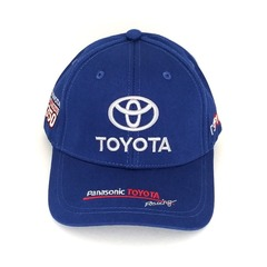 Кепка с вышитым логотипом Тойота (Кепка Toyota) синяя