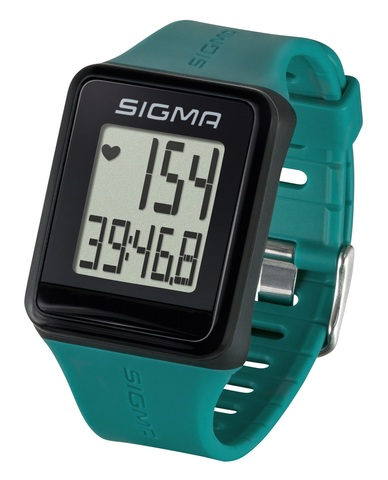 Пульсометр Sigma ID.GO зеленый (pine green)