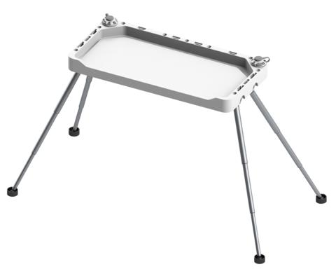 Модульный стол с телескопическими ножками Tm755, серые замки