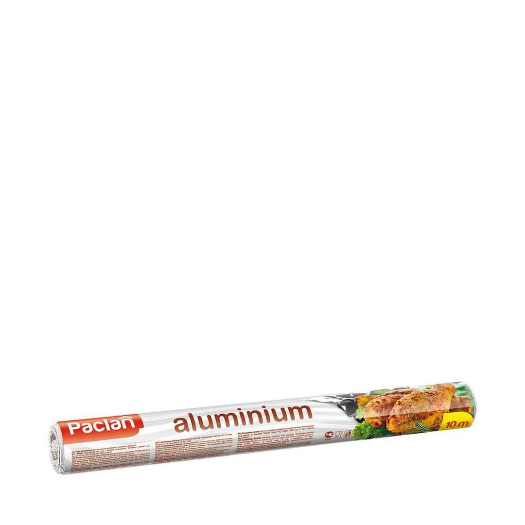 Paclan Фольга алюминиевая 29 см * 10 м в рулоне