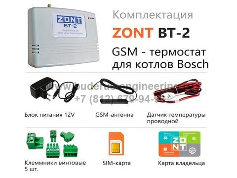 Интернет термостат ZONT BT-2 (комплектация)
