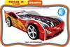 Кровать-машина Форсаж-3D (с колесами)