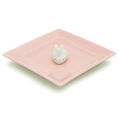 Керамическая подставка Rabbit Pink