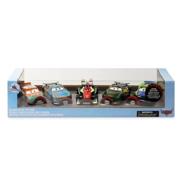 Набор машинок Тачки Disney 5 шт 12 см