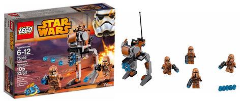 LEGO Star Wars: Пехотинцы планеты Джеонозис 75089 — Geonosis Troopers — Лего Стар ворз Звёздные войны Эпизод