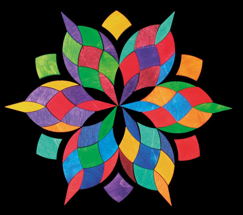 Магнитная мозаика Спираль, большая
