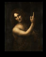 """Репродукция """"Леонардо Да Винчи - Святой Иоанн Креститель """""""