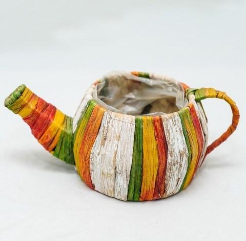 Чайник из тростника