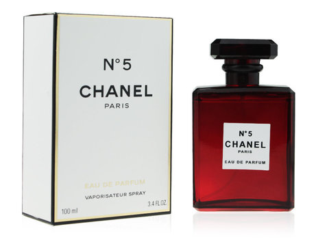 CHANEL №5 EAU DE PARFUM RED EDITION, Edp, 100 ml