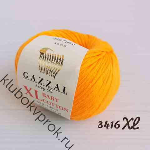 GAZZAL BABY COTTON XL 3416XL, Апельсин