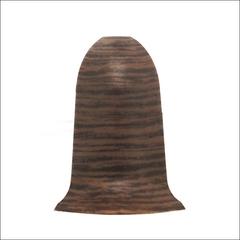 Угол внешний для плинтуса ПВХ T-Plast Венге кофейный