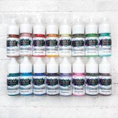 Набор красок для аэрографии «Нюды», 16 цветов по 10 мл