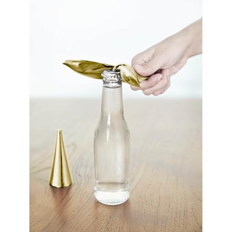 Открыватель для бутылок на подставке Tipsy латунь