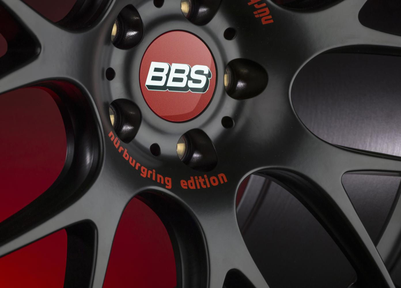 Диск колесный BBS CH-R Nürburgring 9.5x19 5x112 ET45 CB82.0 satin black