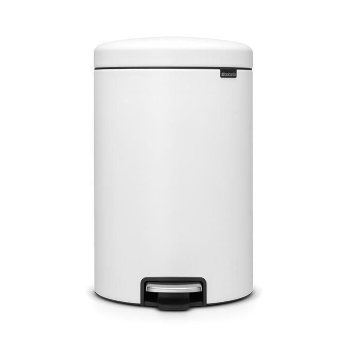 Мусорный бак newicon (20 л), Минерально-белый, арт. 114168 - фото 1