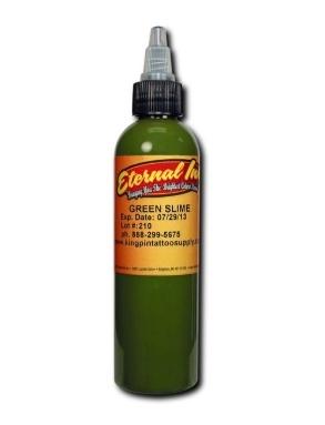 "Краска Eternal ""Green Slime"" для тату 1/2 унции - 15 мл"