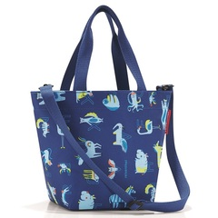 Сумка детская Shopper XS ABC friends blue Reisenthel