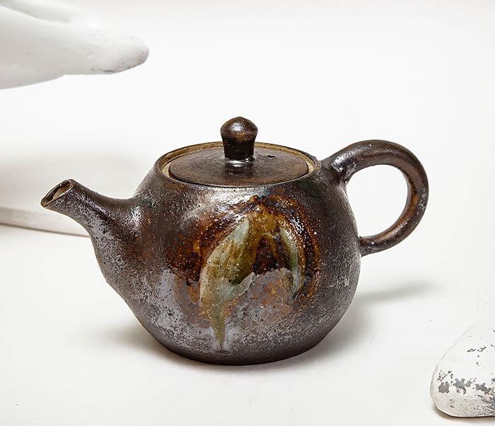 POT101 Маленький чайник из керамики ручной работы