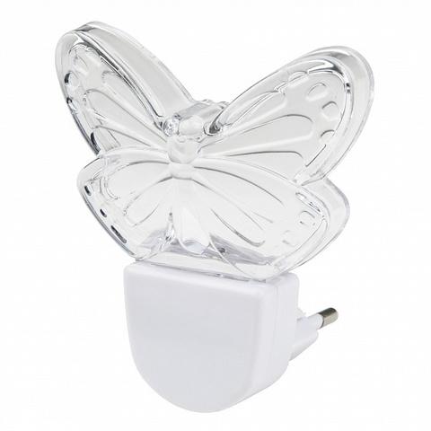 DTL-315 Бабочка/White Светильник-ночник. Без выключателя. Белый. ТМ Uniel